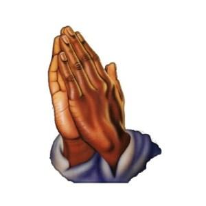 praying hands brown